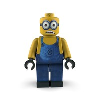 3d model of character lego