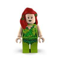 poison ivy 3d model