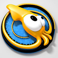 free 3ds model turbo squid logo