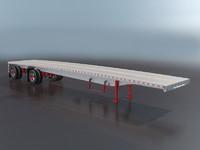 Aluminum Flatbed Trailer