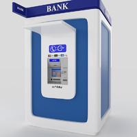 atm bank 3d model