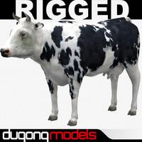 dugm02 cow 03 3d 3ds