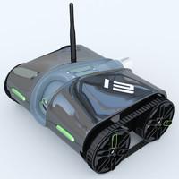 3d rover spy tank 2