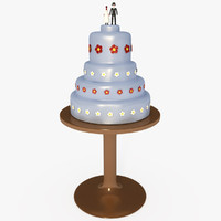 Customizable Wedding Cake