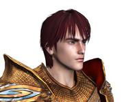 hero knight 3d model