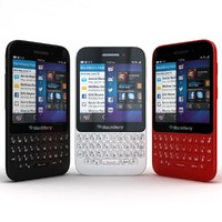 BlackBerry Q5 Black-White-Red