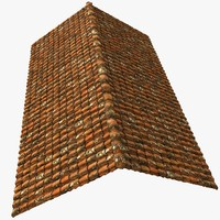 Roof Tiles Old House Construction