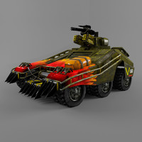 3d armor car games