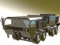 hemtt a4 cargo truck 3d model