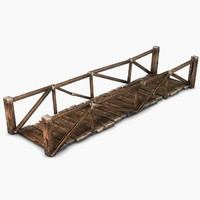 wooden bridge 3ds
