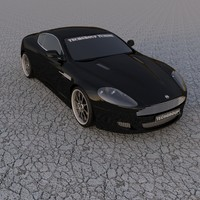3d model aston martin dbr tuned