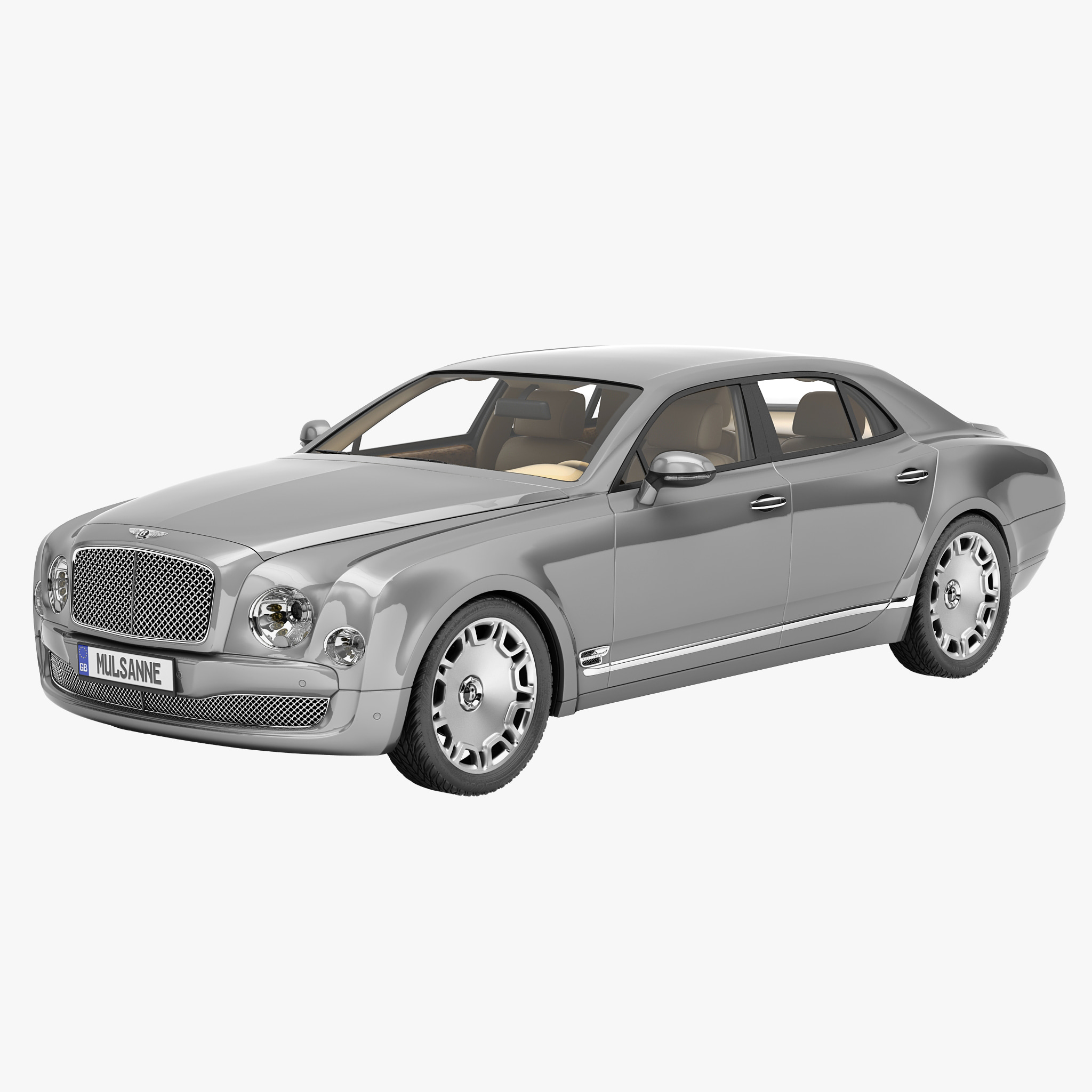 Bentley Mulsanne: Bentley Mulsanne Mulliner 2013 Max