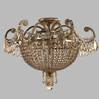 Crystorama Vanderbilt Collection chandelier