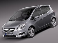 3d model of 2013 2014 van opel
