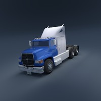 3ds semi truck