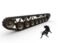 3dsmax track leopard 1