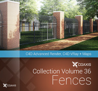 volume 36 fences 3d c4d