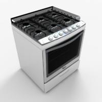 3d model of wf5650q stove