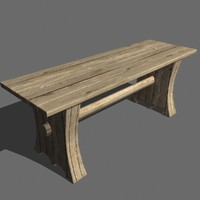 table medieval 3d max