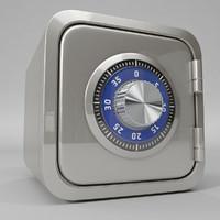 3d model box safe