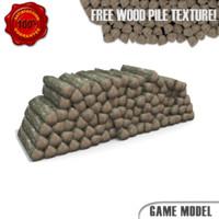 wood pile 3ds
