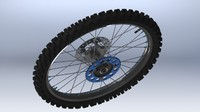 Motorcycle Rear wheel