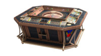 3d model electronic roulette casino 8