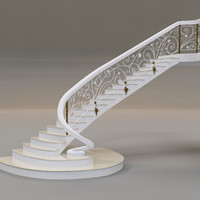 staircase 3d max