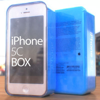 free iphone 5c box 3d model