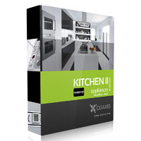 CGAxis Models Volume 33 Kitchen Appliances II MentalRay