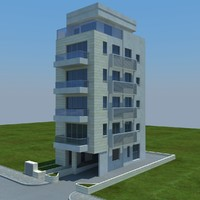 3d model of buildings 5