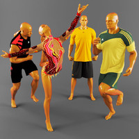 3dsmax sports clothing