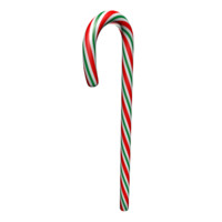 Red and Green Candy Cane