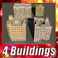 building 85-88 collections 3d model