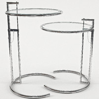 eileen gray adjustable table 3d 3ds