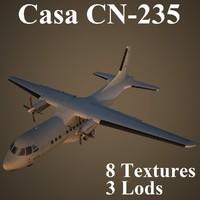 casa cn-2 low-poly max