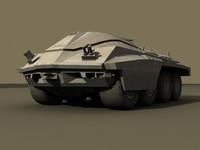 3d tank space sci-fi