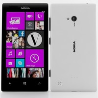 3d nokia lumia 720 white