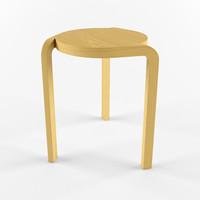 3d max spin stool