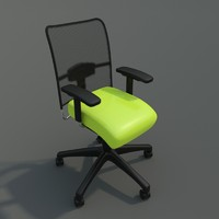 chair clean 3d 3ds