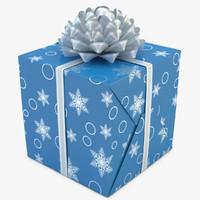 christmas gift 2 3d max