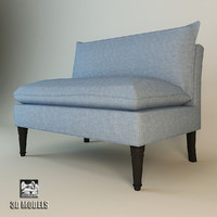 eichholtz sofa maxwell 3d model