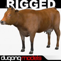 dugm02 cow 02 3ds