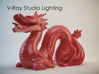 V-Ray Studio Lighting Set B