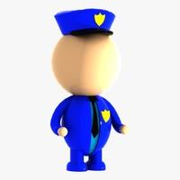 maya police character