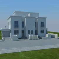 buildings 1 4 3d model