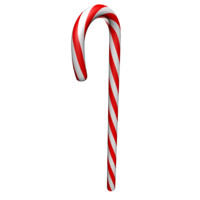 candy cane red 3d model