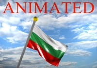 3d model bulgarian bulgaria flag