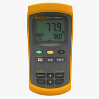 3d digital thermocouple meter fluke model