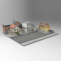 3d model french village